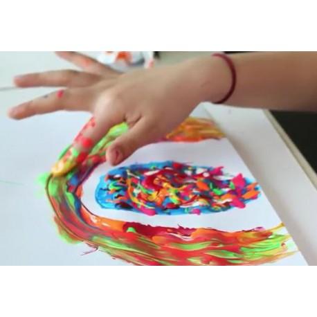 Zestaw do malowania palcami