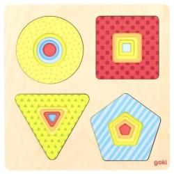 Układanka geometryczna.